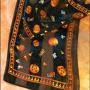 Accessories - Halloween, pumpkin, ghost, Candy corn, long scarf